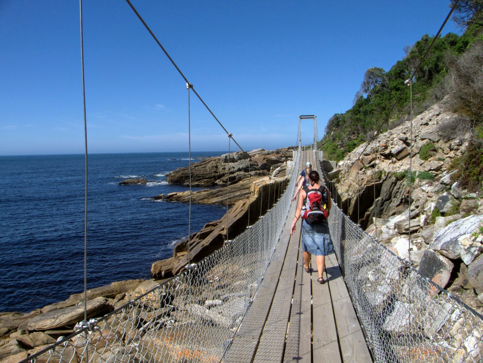 Tsitsikamma National Park : Sorms River Bridges