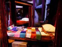 Le lit de Ron dans le dortoir