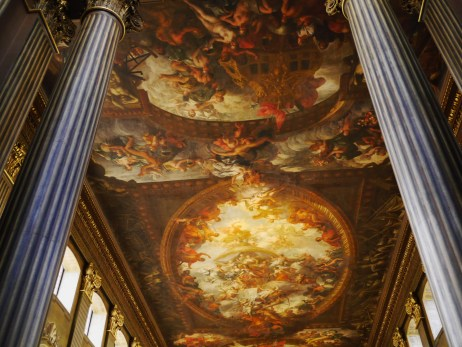 Old Royal Navy College, Greenwich : le Painted Hall