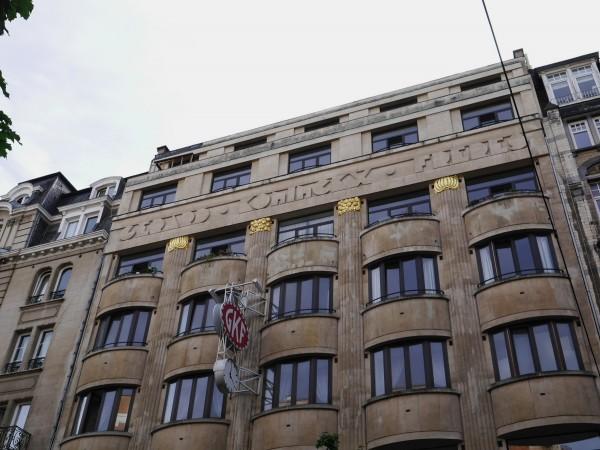 Immeuble Art Déco Boulevard d'Ypres