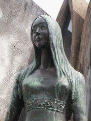 Cimetière Recoleta, Buenos Aires : Tombe de Liana Crociati
