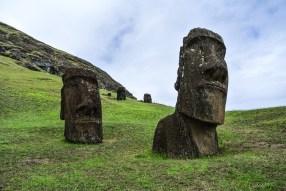 Rano Raraku, Rapa Nui / île de Pâques