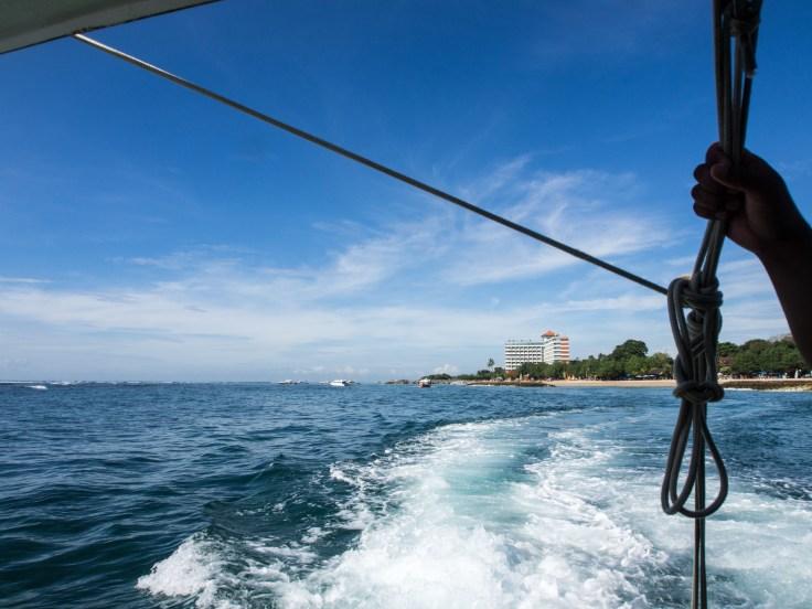 En route pour Nusa Lembongan