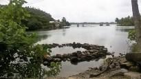 Piège à poissons à Huahine