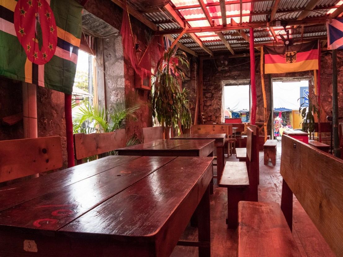 Roseau, Ruins Rock Café