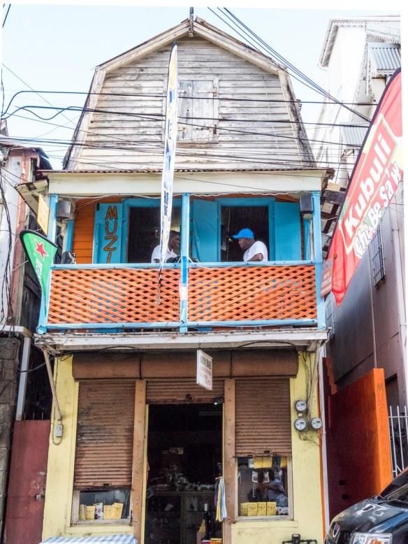 Rue de Roseau, Dominique