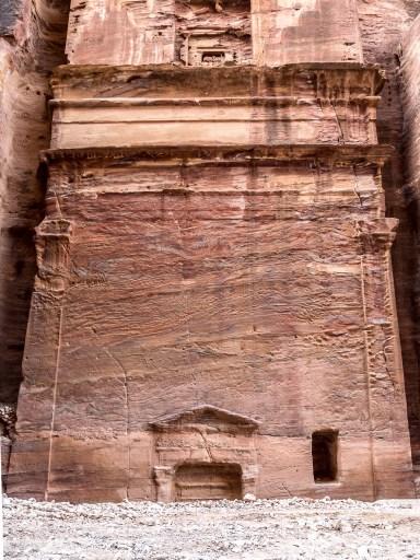 Rue des façades, Petra