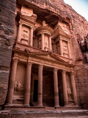 En quittant Petra