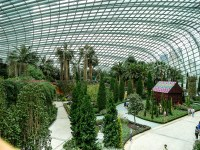 Gardens by the Bay; Flower Dome