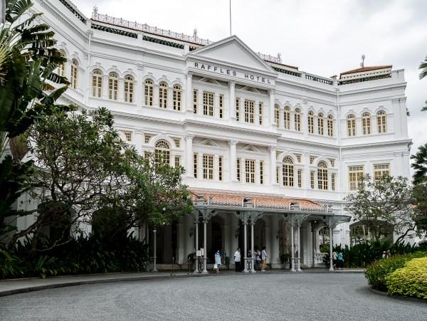 Singapour, Raffles Hotel