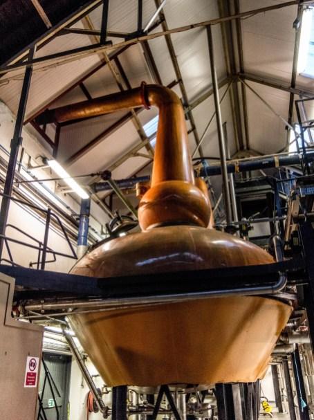 Tomatin whisky distillery
