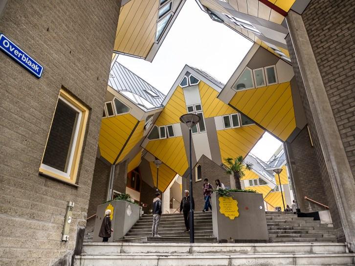 Maison cubique, Rotterdam
