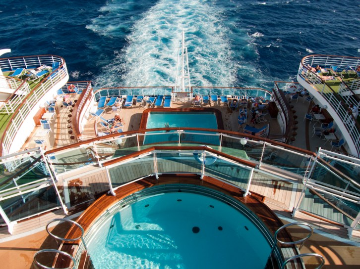 A bords du Ruby Princess