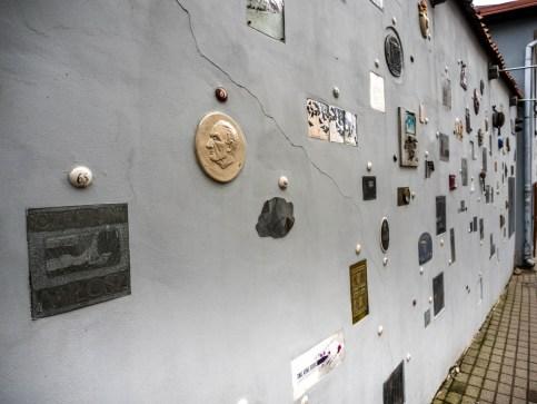Literatų gatve, la rue de la Littérature, Vilnius
