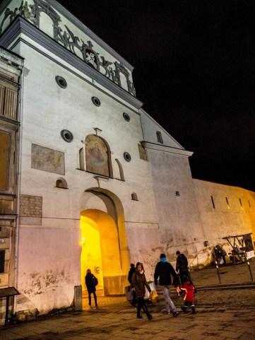 Porte de l'Aurore, extérieur, Vilnius