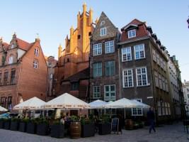 Gdansk, la vieille ville : Ulica Mariacka