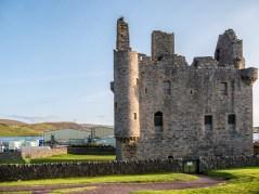 Shetland Château de Scalloway-