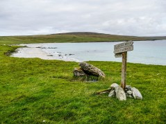 ïles Shetland, Unst : Sandwick Beach