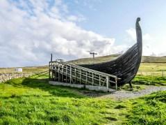 ïles Shetland, Unst : Unst Viking Project