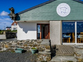 ïles Shetland, Unst : Victoria's Vintage Teal Rooms