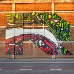 Fresque Street-ArtSide : R