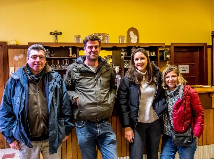 La fine équipe de notre safari urbain, quelque part à Montignies-sur-Sambre.