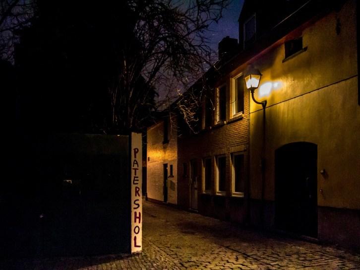 Patershol, Gand, la nuit