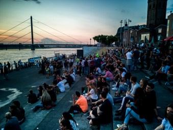 Visiter Düsseldorf pour le week-end; les bords du Rhin