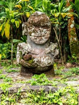 Tiki souriant de Raivavae
