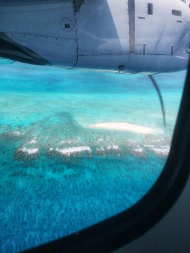 Tubuai vue de l'avion