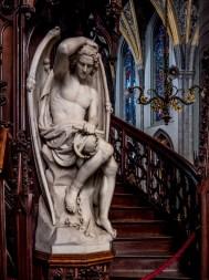 Le Génie du mal,, Cathédrale Saint-Paul de Liège