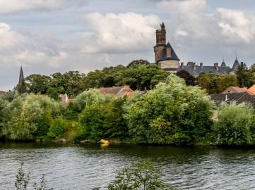 Château d'Antoing et l'Escaut