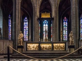 Visiter Mons : Collégiale Sainte-Waudru