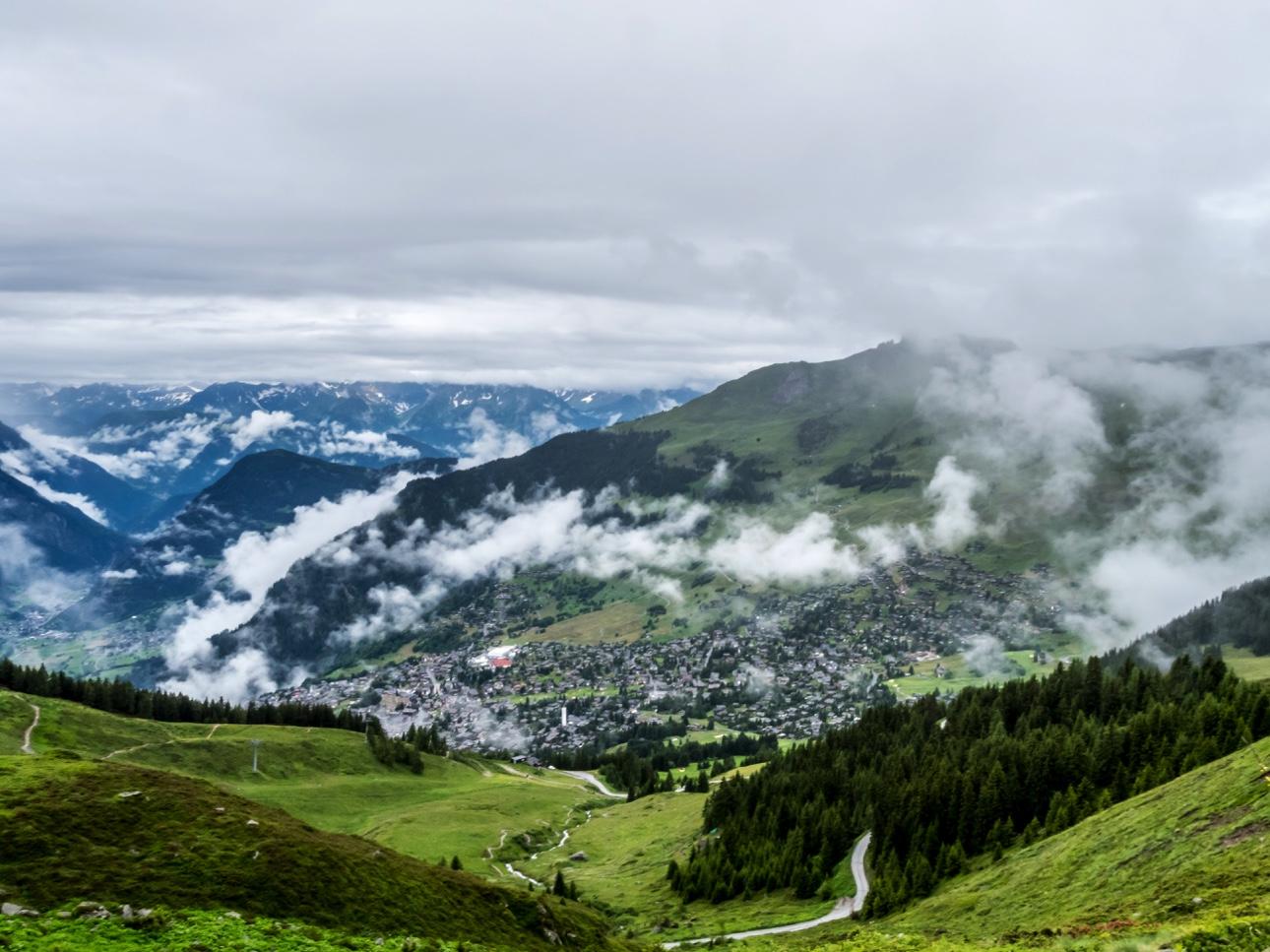 Panorama de Verbier
