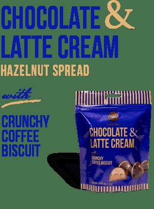 chocolate and Latte cream
