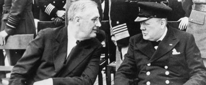 Resultado de imagen para Fotos de Winston Churchill con Franklin D. Roosevelt