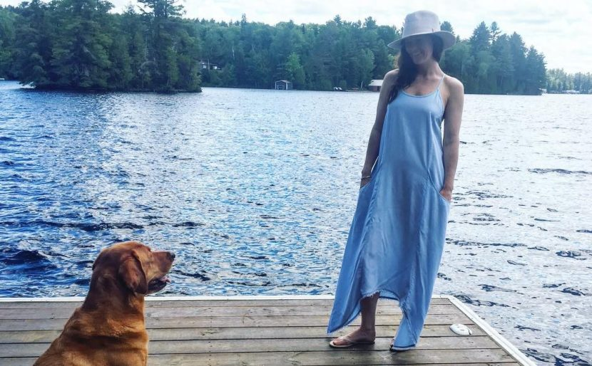 Sister's Pick - Seafolly Draped Chambray Maxi Dress