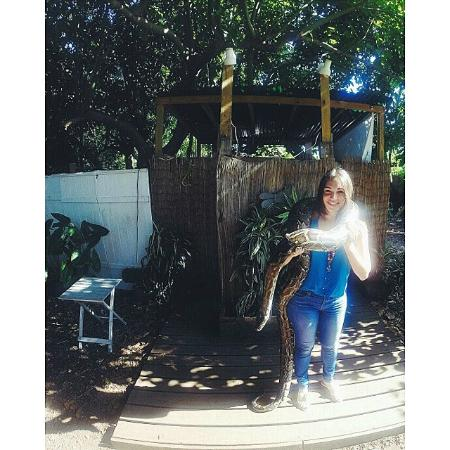 Safari Edventure - 120 Ibs of pure snake