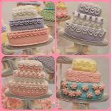 individual cake cookies royal icing