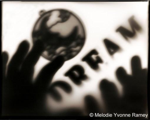 I Dream - Black and White Pictograph