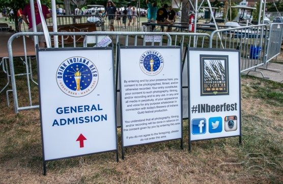 The 23rd Annual Indiana Microbrewers Festival took over Military Park on July 28, 2018.