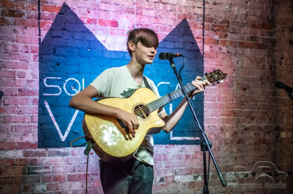 Flat12 Bierwerks Indianapolis & Lewbrook Ranch Present: Gibson Wells at Square Cat Vinyl in Fountain Square of Indianapolis, Indiana on July 21, 2018
