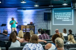 9:15 Sunday morning service at CityLife Church in Greenwood, Indiana on August 12, 2018