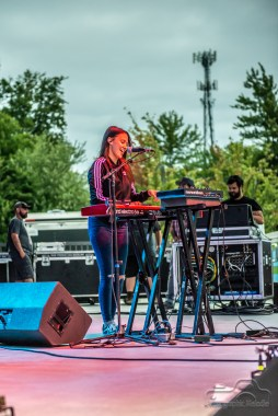 Mt. Joy electrifies the stage while opening for Houndmouth at the Nickel Plate District Amphitheater in Fishers on August 24, 2018
