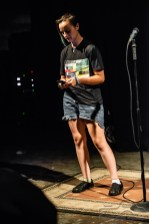 IconoclastPoetry Open Mic Night at the Irving Theater in the Irvington Historic District of Indianapolis, Indiana on August 9, 2018