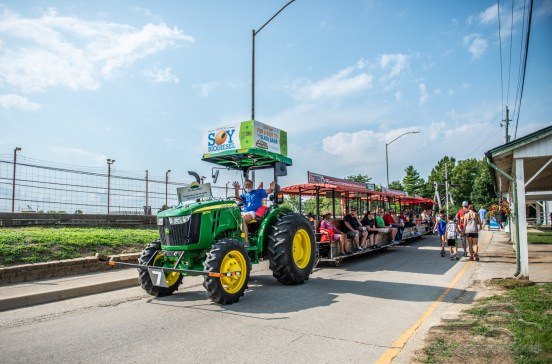 Opening day of the Indiana State Fair on Friday, August 3, 2018.