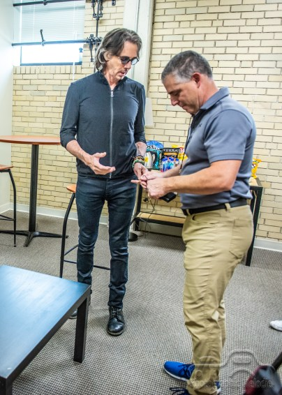 Preshow interview by IndyStar's Amanda Kingsbury with Rick Springfield opening day of the Indiana State Fair on Friday, August 3, 2018.