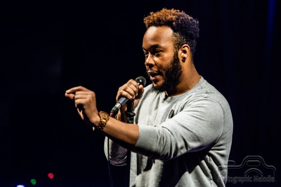 Iconoclast Poetry Open Mic hosted by Devon Ginn at the Irving Theater in Indianapolis, Indiana on September 13, 2018