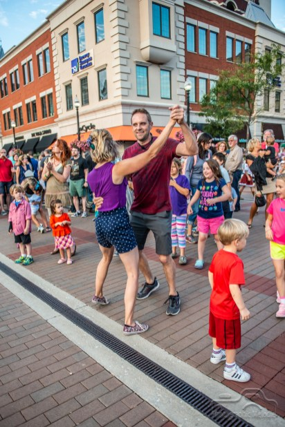 The City of Carmel's annual Oktoberfest celebration was full of dancing and fun for all at the Carmel City Center on September 21, 2018