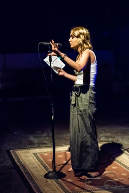 Iconoclast Poetry Open Mic at the Irving Theater in Indianapolis, Indiana on August 30, 2018